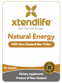 Natural Energy with NZ Bee Pollen